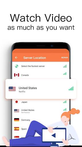 Turbo VPN Lite- Free VPN Proxy Server & Fast VPN 0.1.6 Screenshots 3