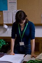 Photo: Magda na stanowisku