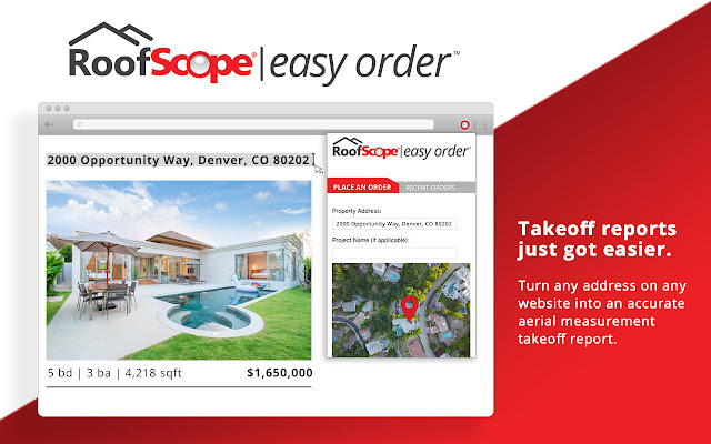 RoofScope Easy Order