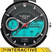 X-Gen Watch Face & Clock Widget