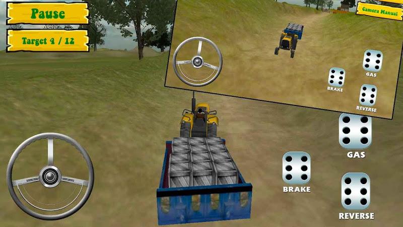 Скриншот Hill Dirt Trucker Climb