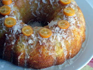 Citrus Coconut Milk Cake Recipe