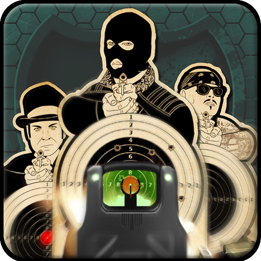 Shooting Range Simulator Game Icon