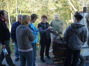 Photo: Główny punkt zlotu - kuchnia polowa