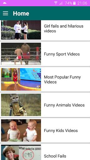 Funny videos for whatsapp 1.9 screenshots 1