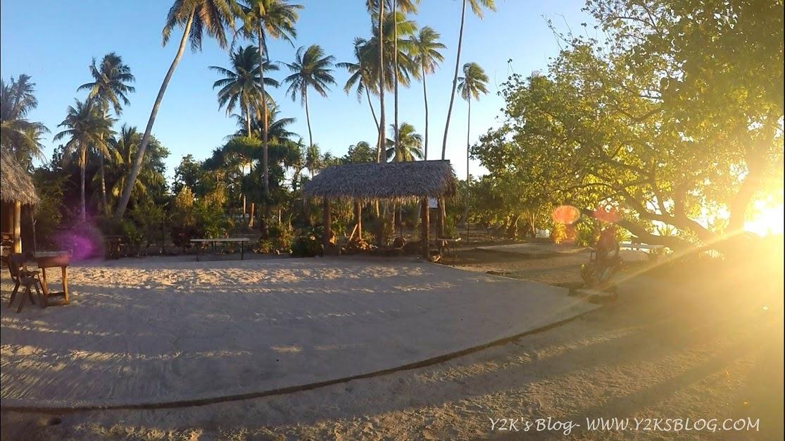 Barettino sulla spiaggia - Taha'a