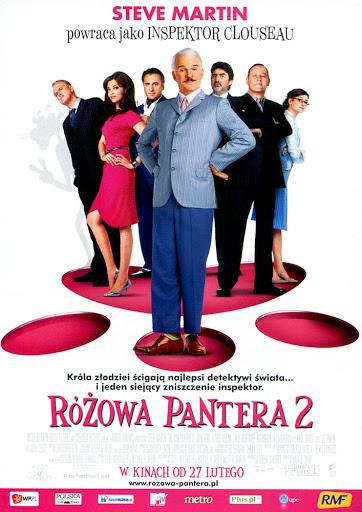 Przód ulotki filmu 'Różowa Pantera 2'