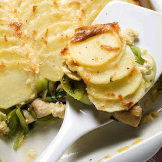 Potato & Leek Gratin