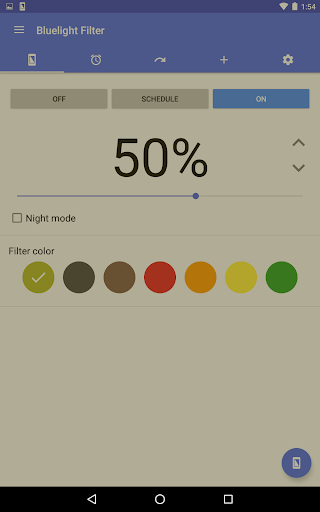 Bluelight Filter for Eye Care  screenshots 14