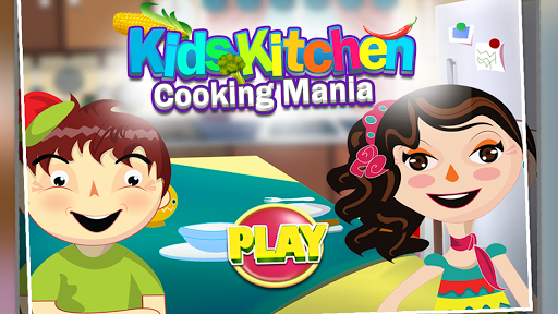 Kids Kitchen Cooking Mania app (apk) free download for Android/PC/Windows screenshot