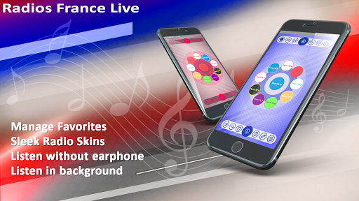 radios france live  | record, alarm& timer screenshot 1