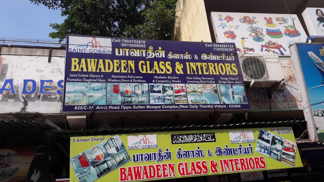 Bawadeen glass & interiors - Interior Designer in Vellore