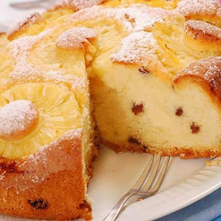 Cottage Cheese Casserole With Pineapple And Raisins