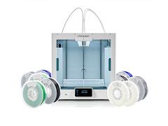 Ultimaker S5 Dual Extrusion 3D Printer Starter Bundle
