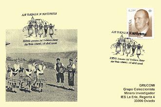 Photo: Matasellos de la XXVII Semana del Folclore Astur de El Ventolín en Siero 2006