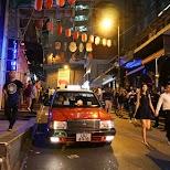 LKF main street with bars and nightclubs in Hong Kong, , Hong Kong SAR