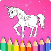 Unicorn Coloring Book of Kids