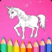 Tải Unicorn Coloring Book of Kids APK
