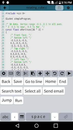 Mobile C [ C/C++ Compiler ] 2.5.2 com.dztall.ccr.android.admob apkmod.id 4