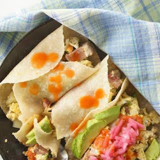 Instant Pot Breakfast Burrito Casserole.