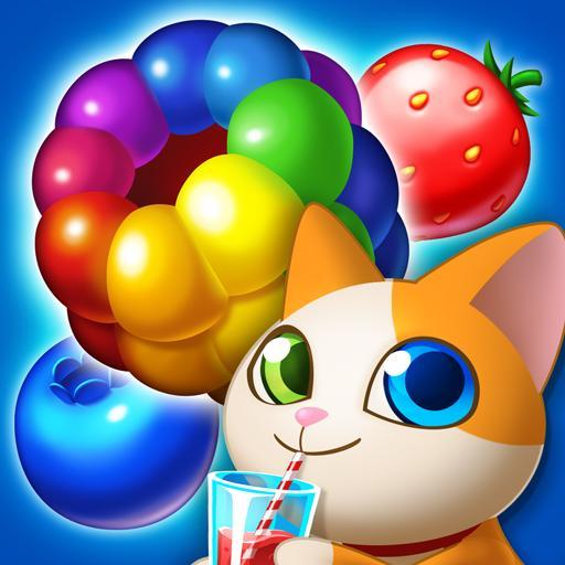 Juice Pop Mania: Free Tasty Match 3 Puzzle Games Icon