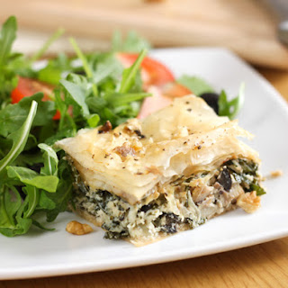 Kale And Mushroom Savoury Baklava