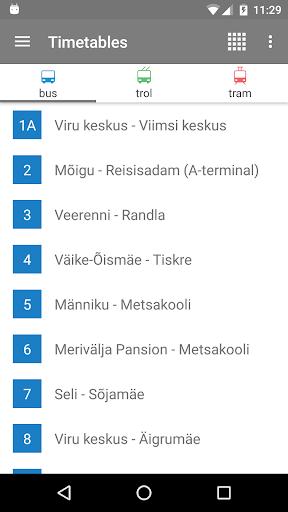 Tallinn Transport - timetables 4.7.0 screenshots 1