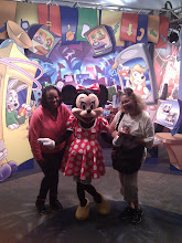 Photo: Minnie and I have met several times and it's always fun.