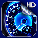 Speedometer Live Wallpaper HD icon