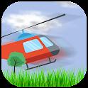 crazy fly airplay ballon icon
