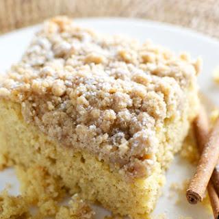 Cinnamon Crumb Cake.