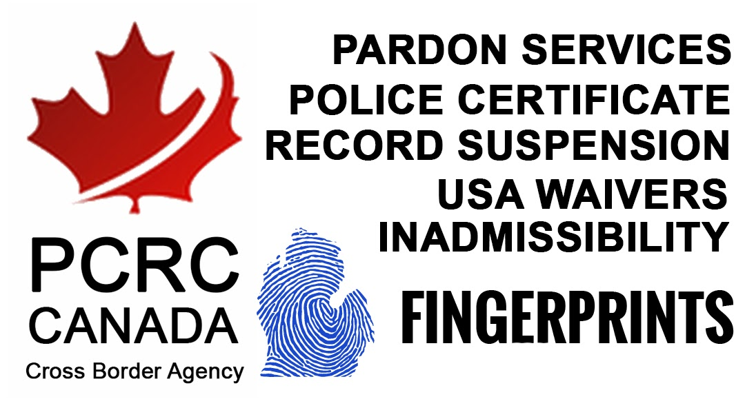Commissionaire Electronic Fingerprinting Rcmp Police Certificate