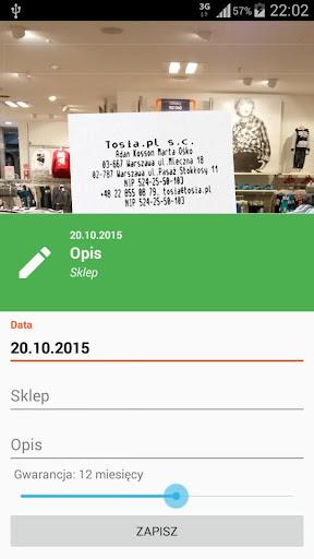 玩購物App Paragony - Twoje Gwarancje免費 APP試玩