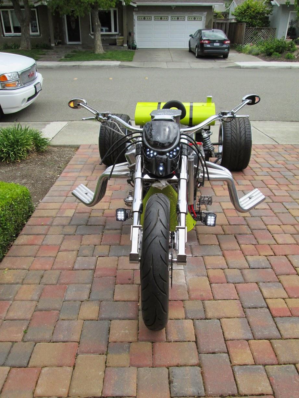 V8 trike plans?