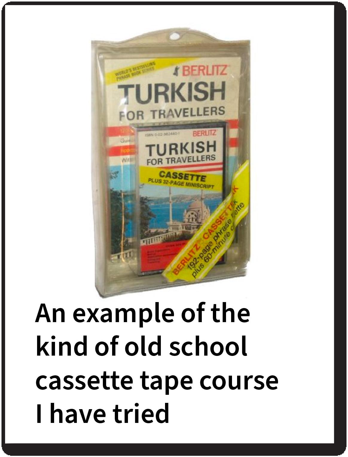 Old school cassette tape course