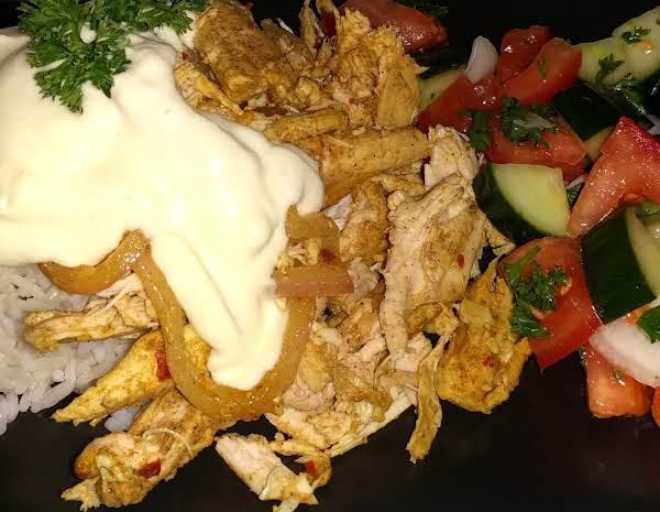 Oven Roasted Chicken Shawarma Recipe