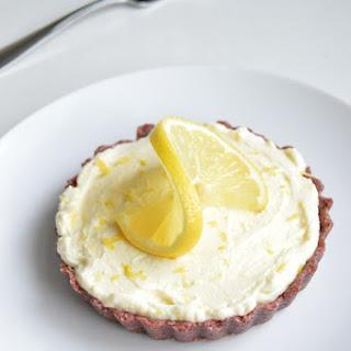Lemon Cranberry Cheesecake Tart