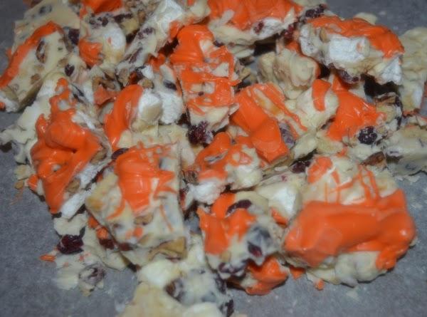 Orange Jubilee Bark Recipe