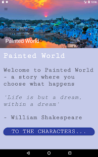 Painted World - story choices- screenshot thumbnail