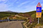 Подъем на перевал Cruz de Ferro