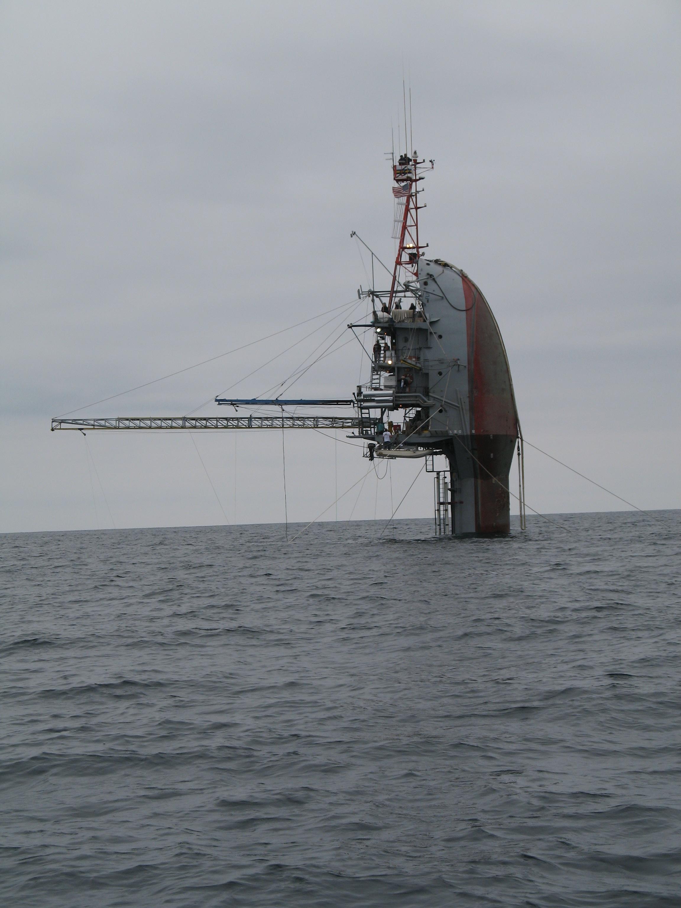 Photo: Floating Instrument Platform (FLIP)