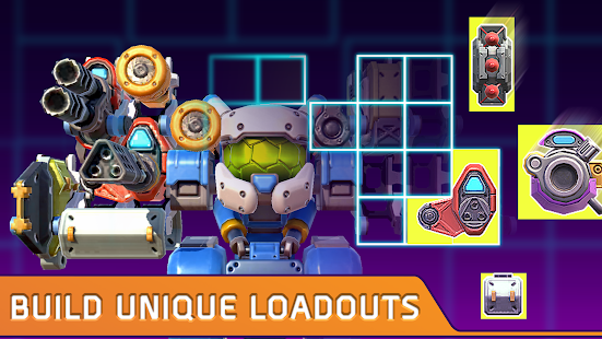Turbo Squad: Build and Battle Screenshot