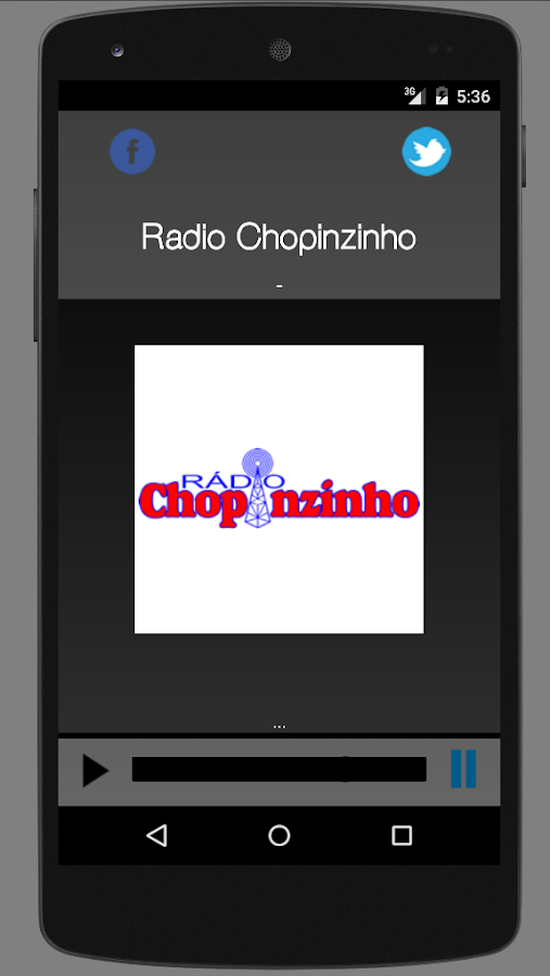 Radio Chopinzinho AM- screenshot