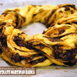 Salted Chocolate and Marzipan Babka for #TwelveLoaves