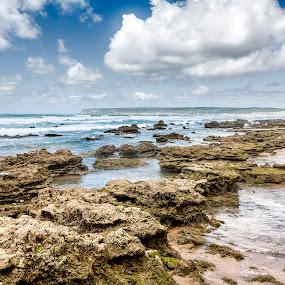 Rocks by Jesús Sánchez Ibáñez - Landscapes Beaches