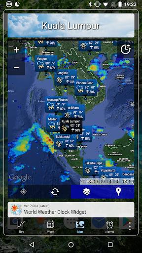 World Forecast Clock Widget screenshot 6