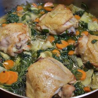 One Pot Chicken & Veggies.