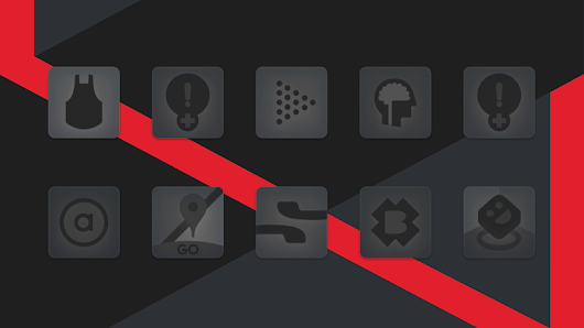 Matte Black Icon Pack - Apps on Google Play