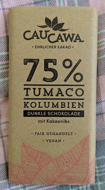 75% Tumaco Kaukawa Bar