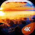 Sunset Sea 4K Live Wallpaper icon
